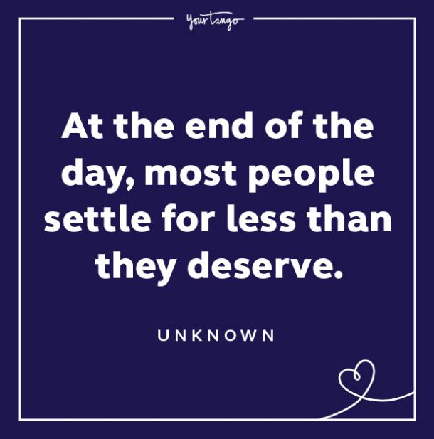 Red Flag Quote Most People Settle For Less