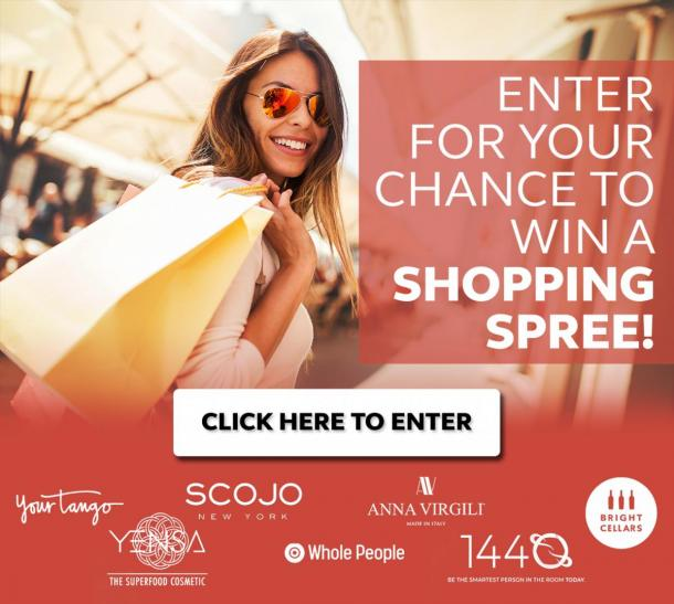 Shopping spree giveaway from bright cellars and YourTango