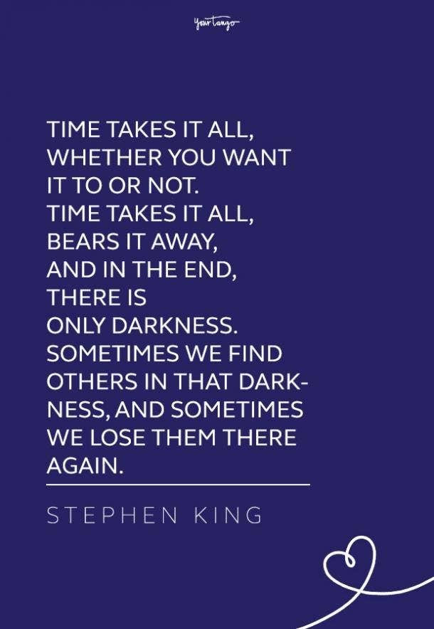 dark Stephen King quote