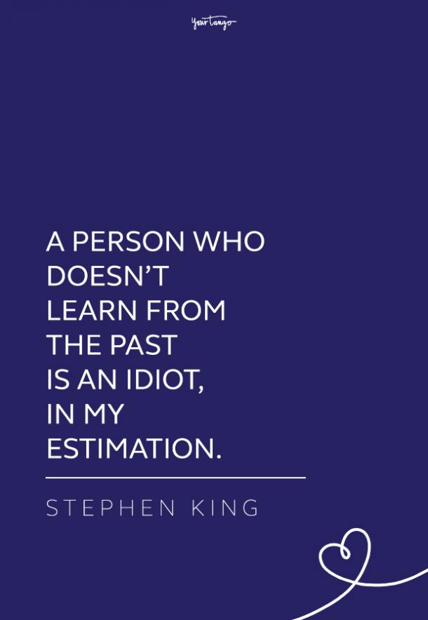 Stephen King quote about life