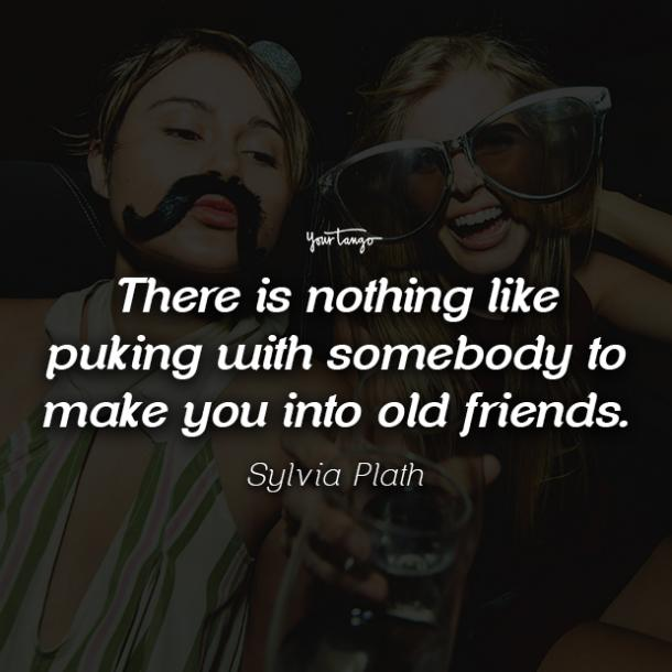 Sylvia Plath funny friendship quotes