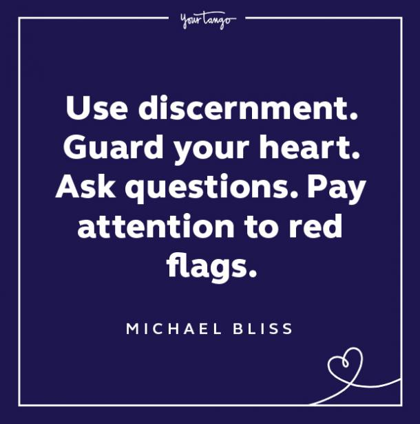 Red Flag Quote Use Discernment