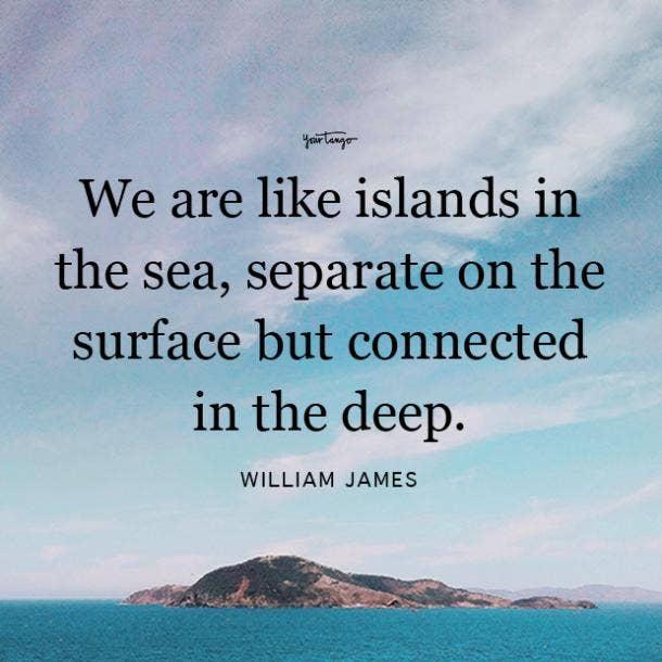 William James long distance friendship quotes