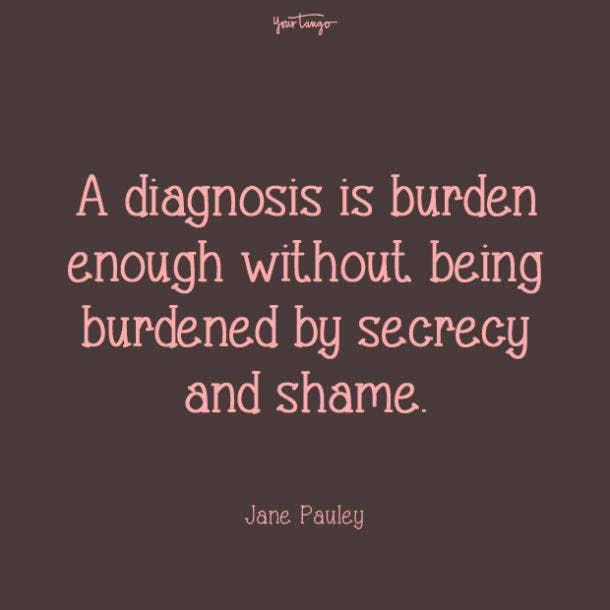 Jane Pauley mental health quote