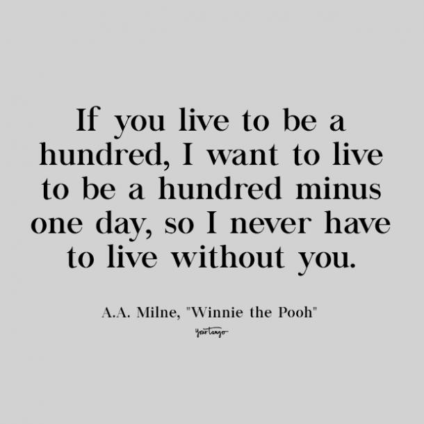 aa milne cute love quote