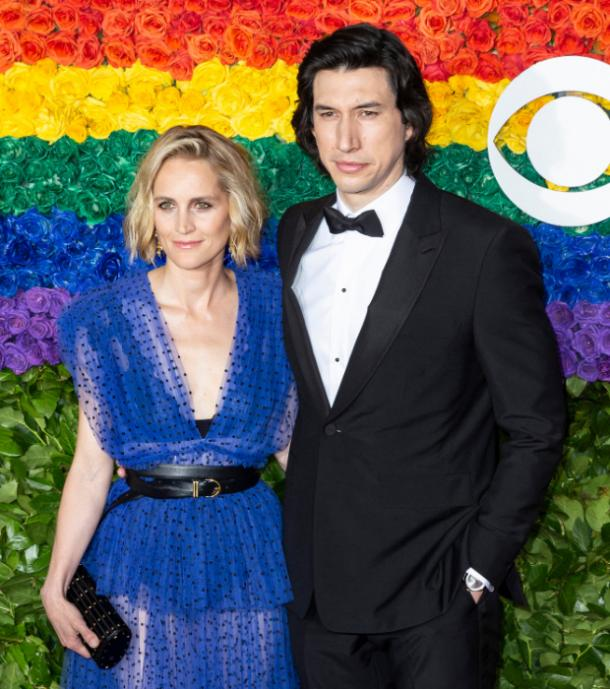 Adam Driver and wife Joanna Tucker