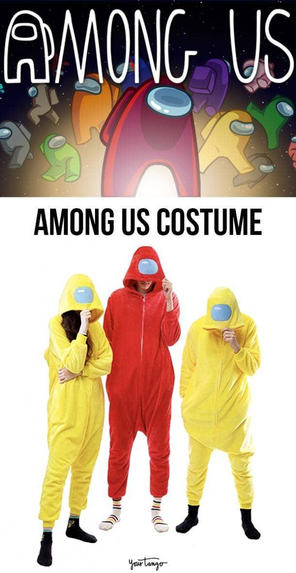 Among Us Halloween Costumes