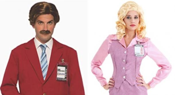 ron burgundy and veronica corningstone anchorman couples costume