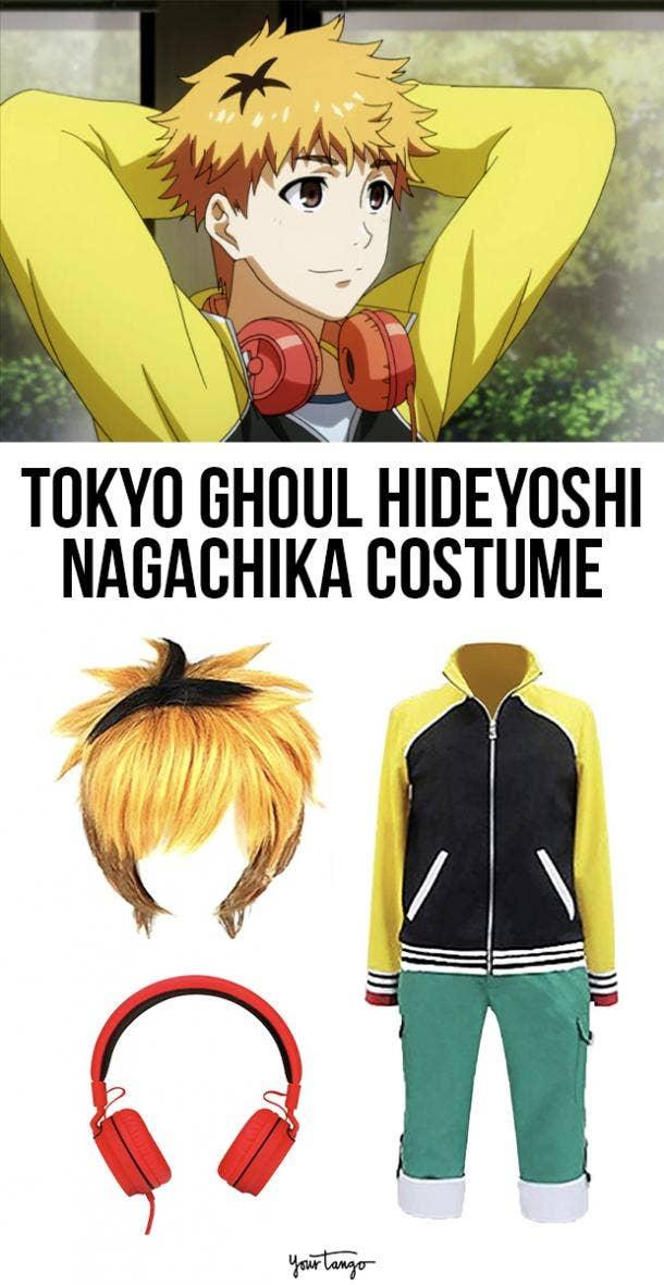 "Hideyoshi ""Hide"" Nagachika Tokyo Ghoul Halloween Costume"
