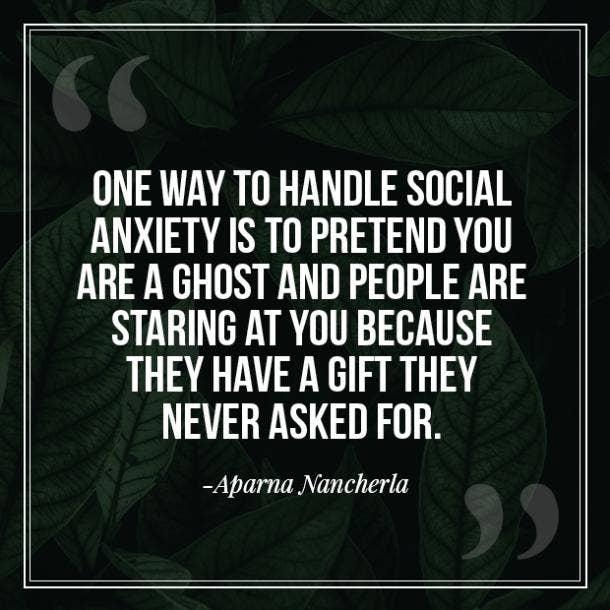 Aparma Nancherla anxiety quotes