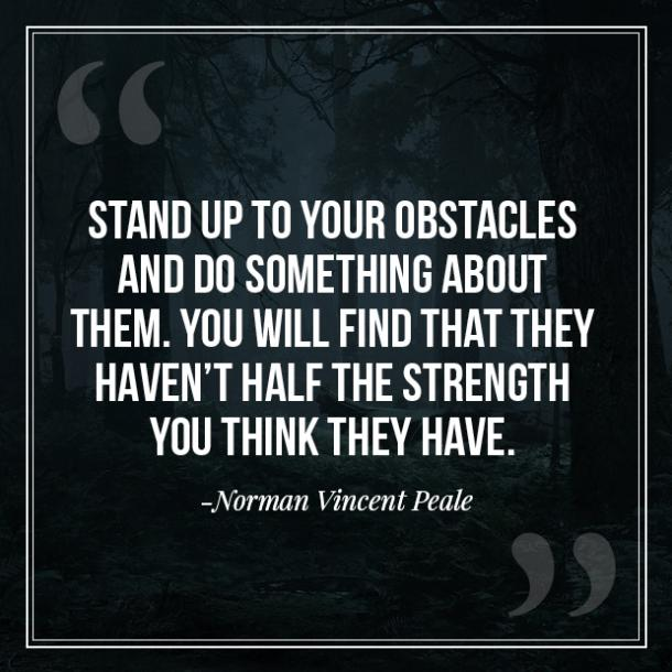 Norman Vincent Peale anxiety quotes