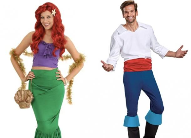 the little mermaid couples costume