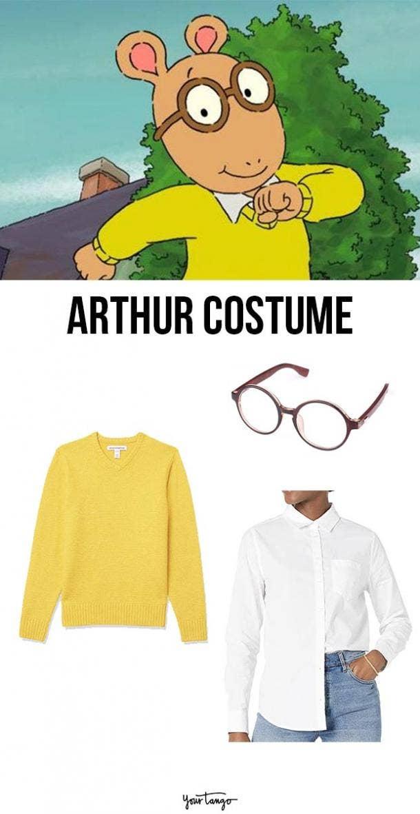 arthur last minute halloween costumes