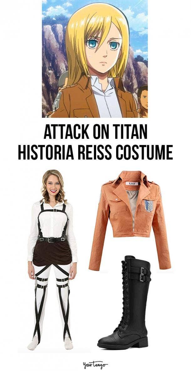 Historia Reiss Survey Corps Uniform Halloween Costume
