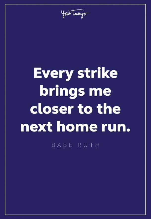 babe ruth homerun quote