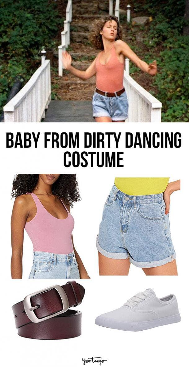 dirty dancing baby last minute halloween costumes