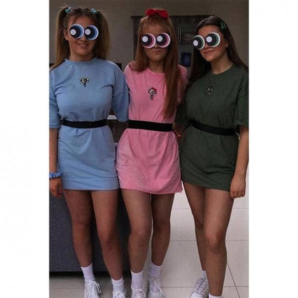 badass halloween costumes for women powerpuff girls