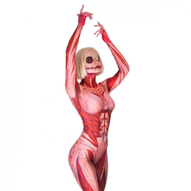 badass halloween costumes for women female titan attack of the titans