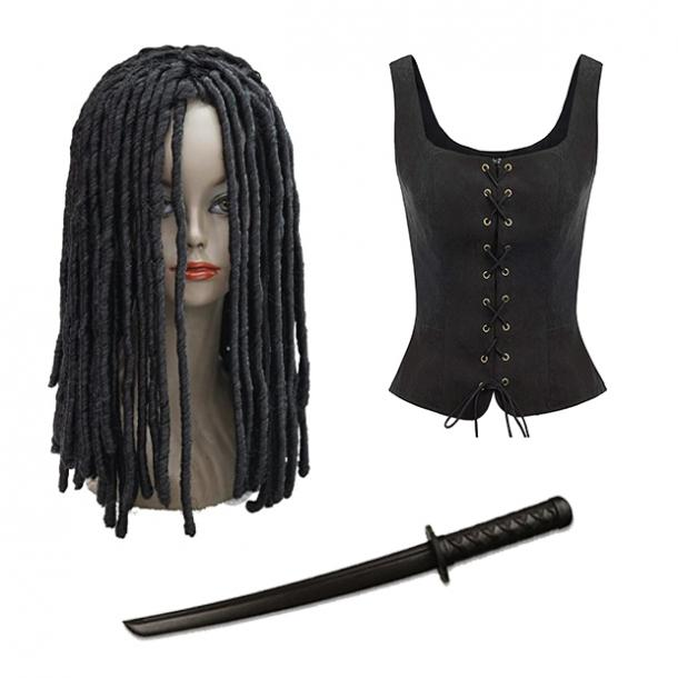 badass halloween costumes for women michonne walking dead