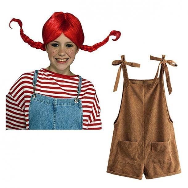 badass halloween costumes for women pippi longstocking