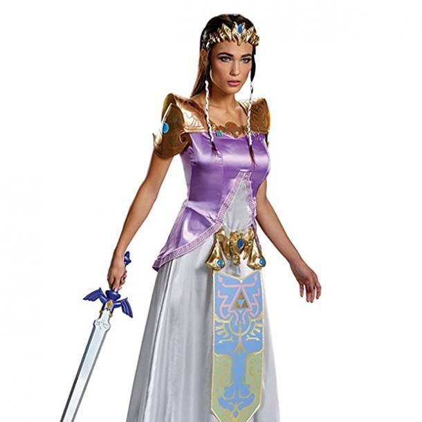 badass halloween costumes for women princess zelda