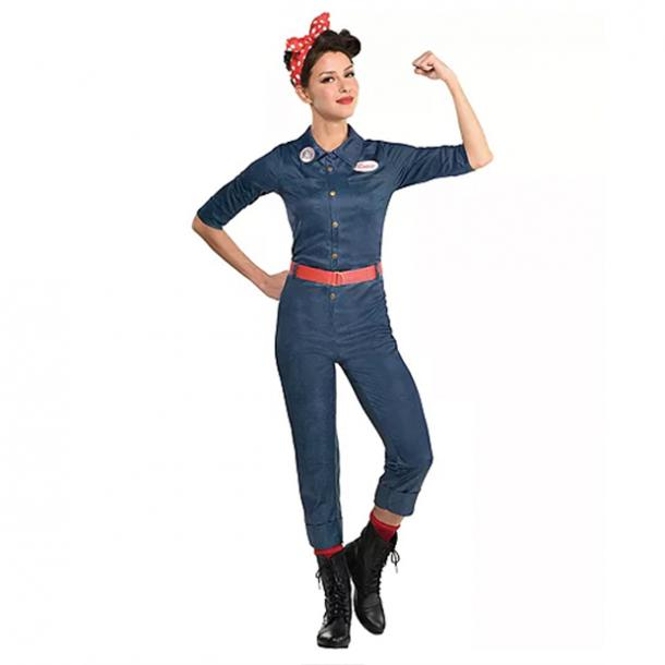 badass halloween costumes for women rosie the riveter