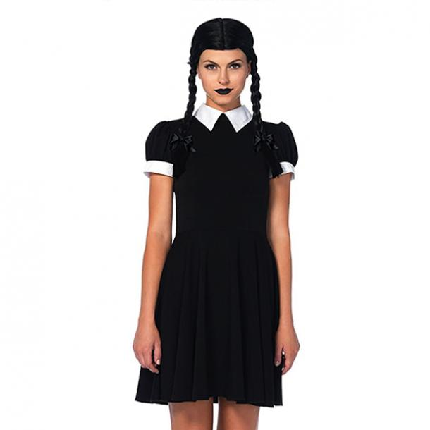 badass halloween costumes for women wednesday addams