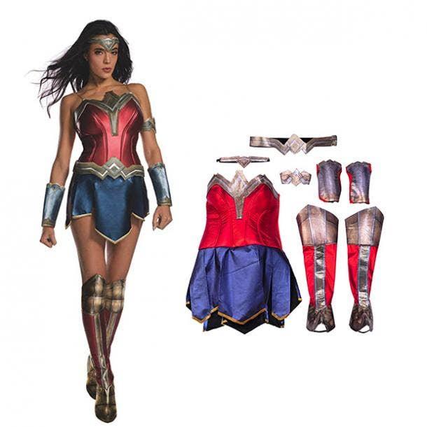 badass halloween costumes for women wonder woman