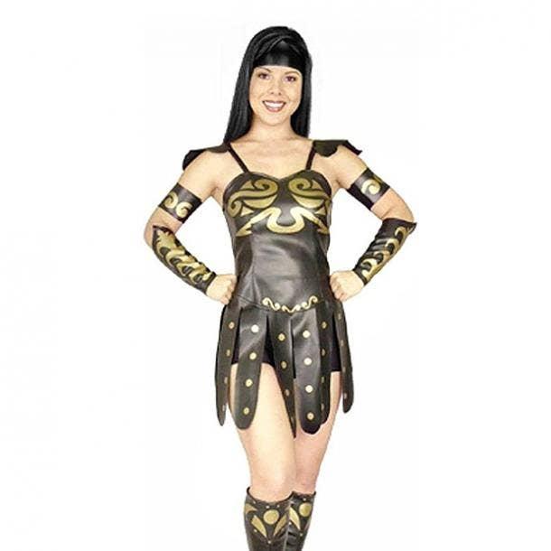 badass halloween costumes for women xena warrior princess