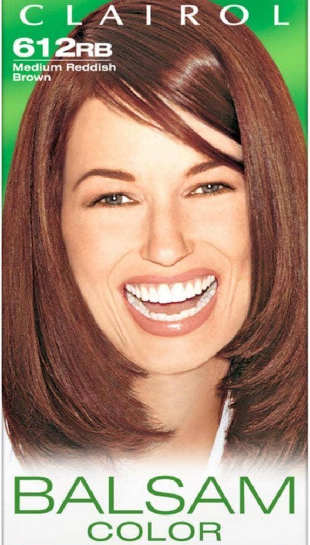Balsam Hair Color in Medium Reddish Brown by Clairol