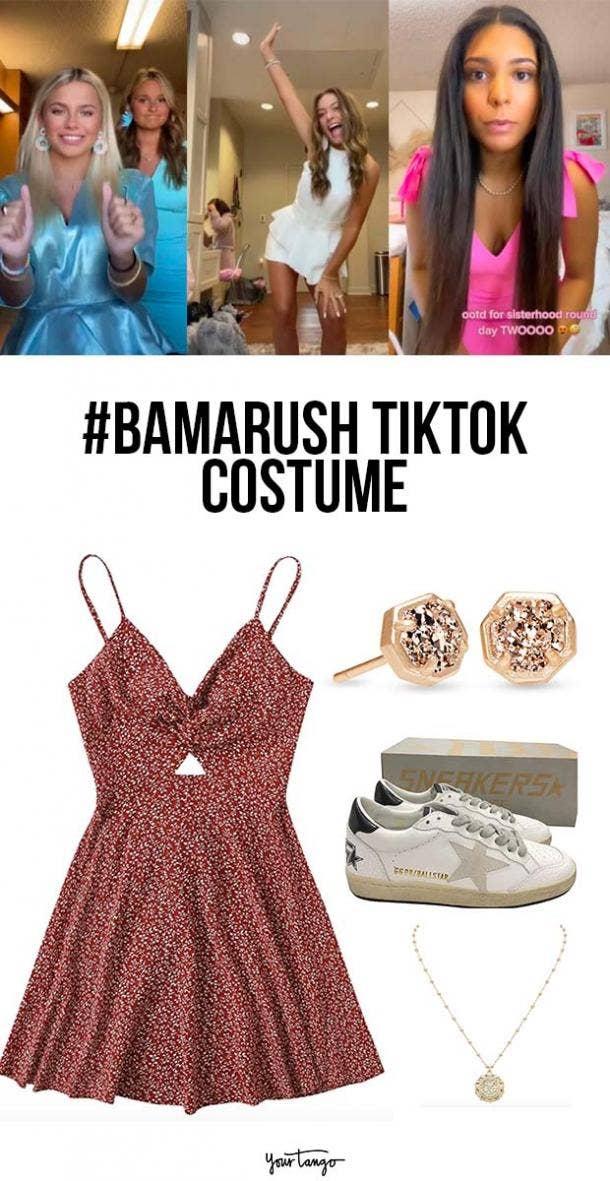 TikTok 'Bama Rush Sorority Recruitment Look 2021