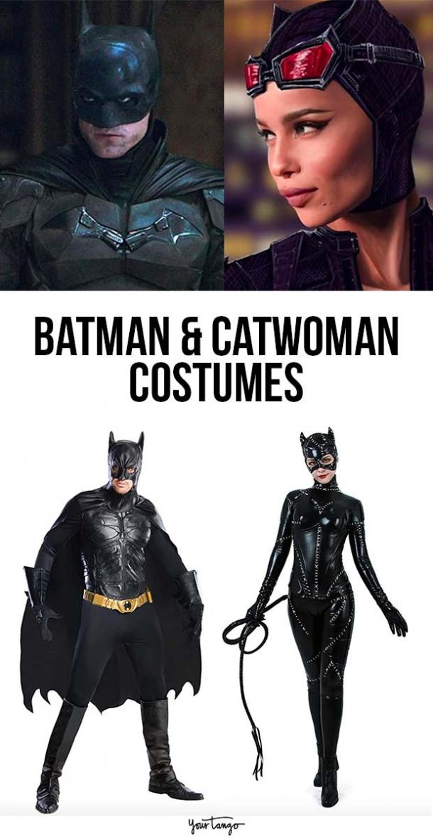 Batman and Catwoman Couple Costume