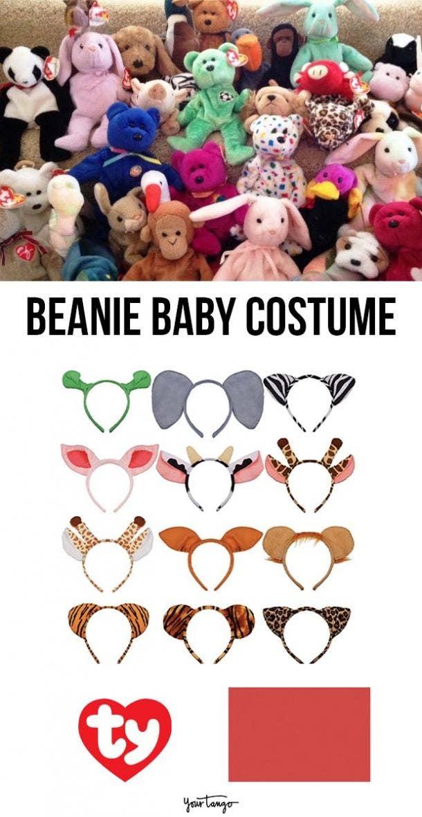 beanie baby last minute halloween costumes