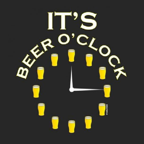 beer memes It's beer o'clock