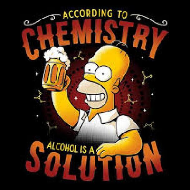 beer memes according to chemistry alcohol is a solution