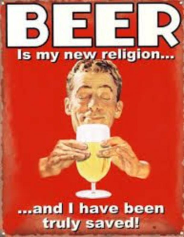 beer memes beer is my new religion