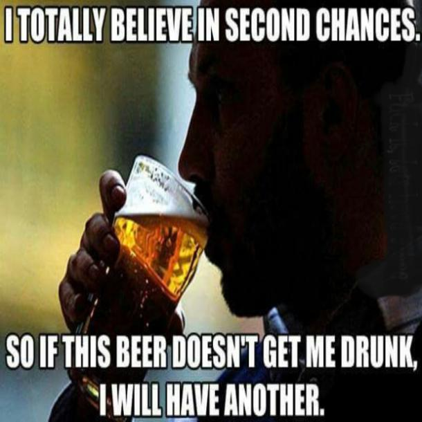 beer memes second chances