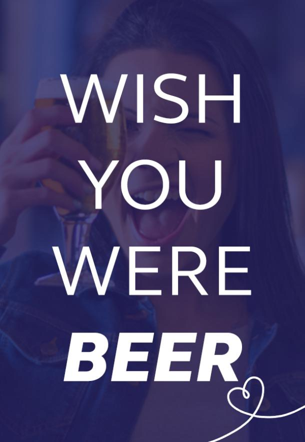 wish you were here beer puns national beer day memes