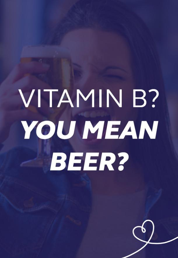 vitamin b beer puns national beer day memes
