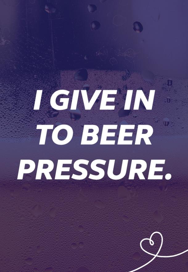 beer memes give into beer pressure