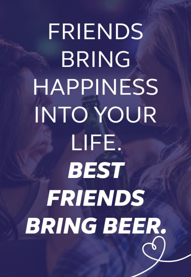 beer memes friends bring happiness into your life