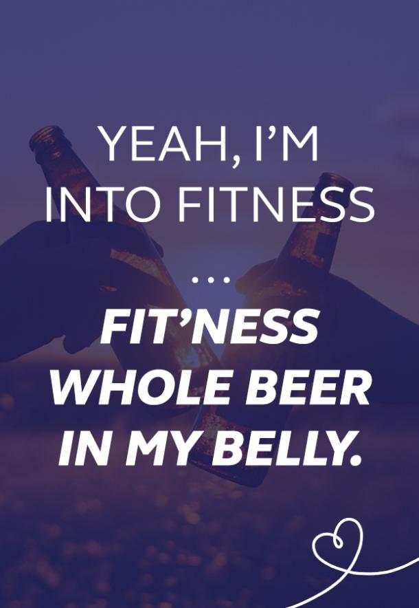 into fitness beer puns national beer day memes