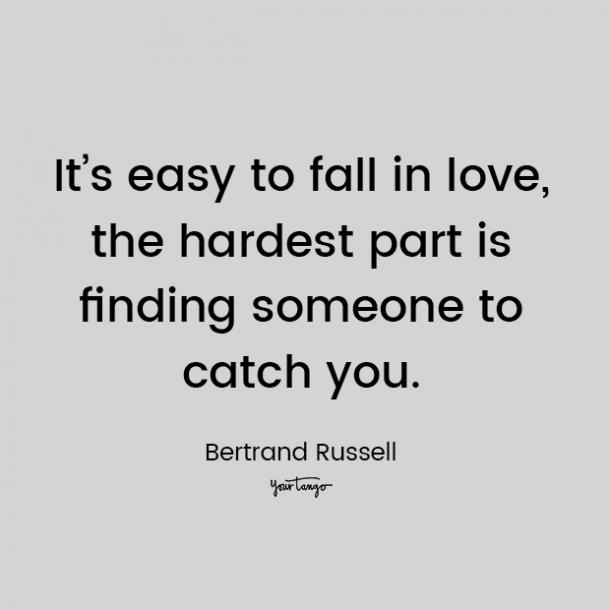 bertrand russell love quote for him