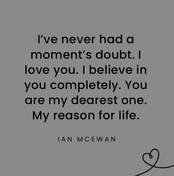 Ian McEwan quotes about daughters