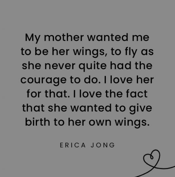 Erica Jong quotes about daughters