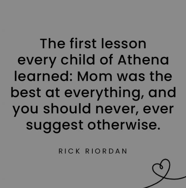 Rick Riordan quotes about daughters