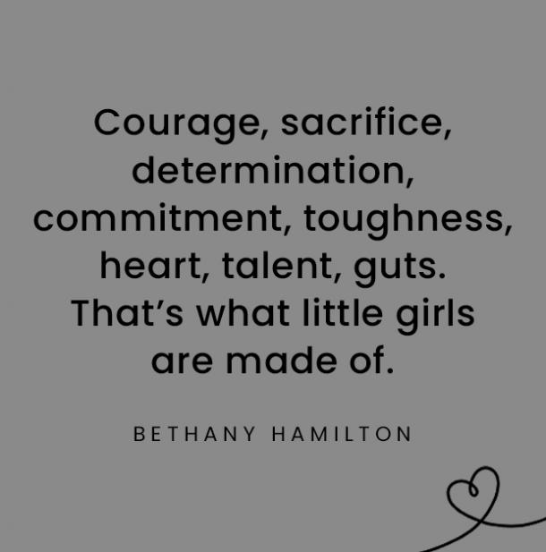 Bethany Hamilton quotes about daughters