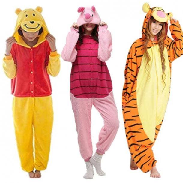 Pooh costume, Piglet costume, Tigger Costume
