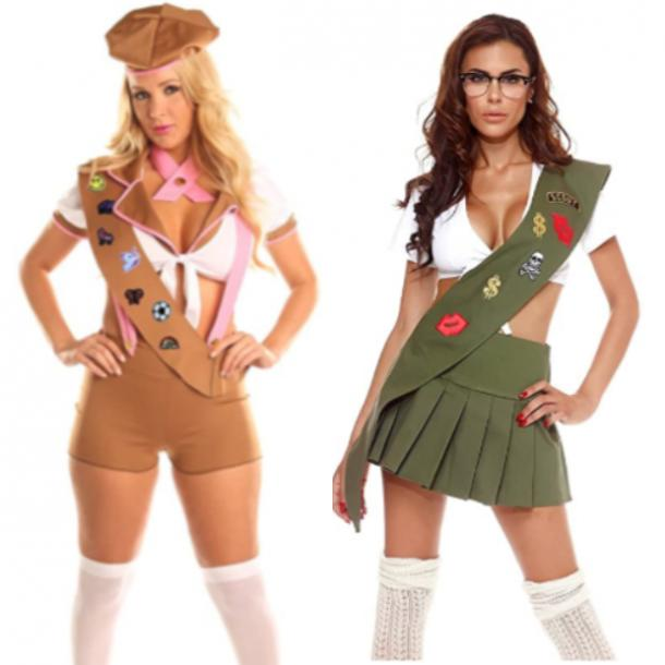 Girl Scouts Halloween Costume