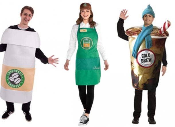 Starbucks Barista costume, Cold Brew costume, Coffee Costume